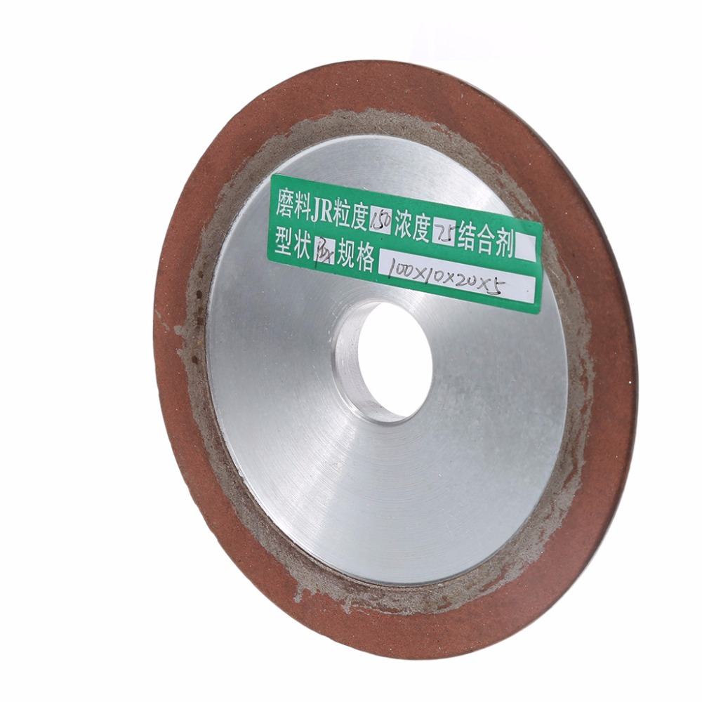 OOTDTY 100mm Diamond Grinding Wheel Cup 150 Grit Cutter Grinder For Carbide D4H9 150# diamond angle grinder wheel for glass ceramic grinding dia 100mm and 80mm hole 16mm abrasive pad 120 180 grit m007