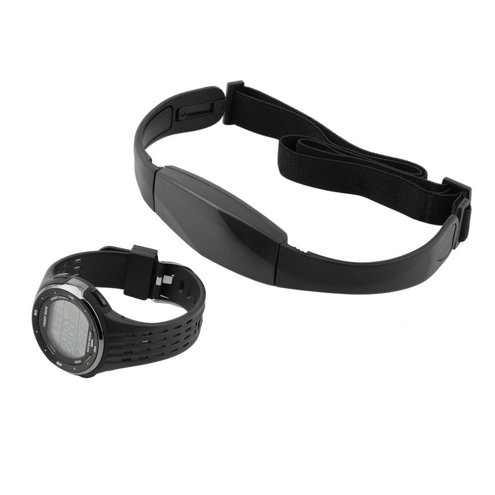 1pc Outdoor Sports Watches Wireless Chest Strap Heart Rate Watches P3144 modelsest New Style