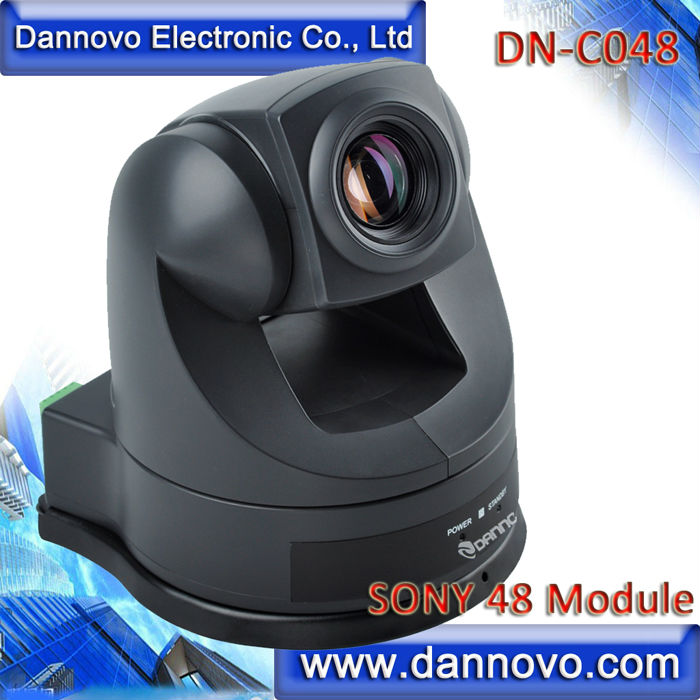 DANNOVO Color PTZ Video Conferencing Camera Sony Camera CCTV 18x Optical Zoom,AV & S-video Output,RS485/232/422,Remote Control