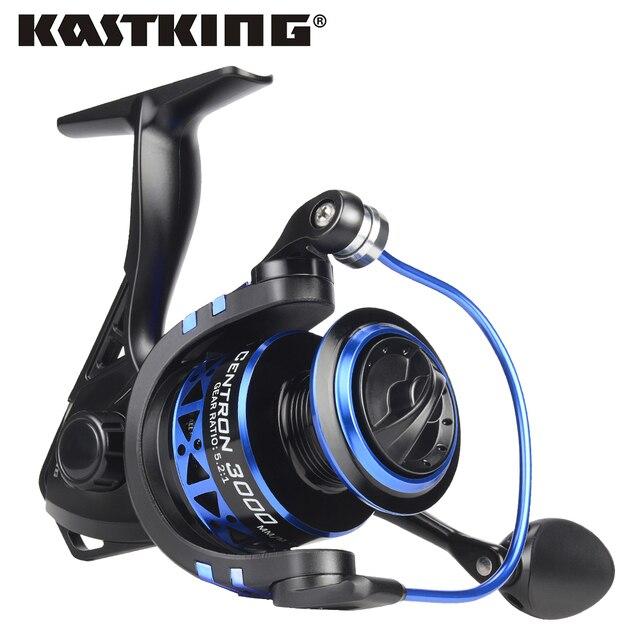 KastKing Centron perfil bajo de agua dulce carrete giratorio Max Drag 8 KG carpa carrete de pesca para la pesca de lubina 500-5000 serie
