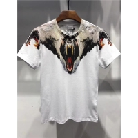 2018 New Top Quality Marcelo Burlon T Shirt Men printed Animals Snake Milan Feather wings T shirt bears Streetwear MB Shirt TOPS