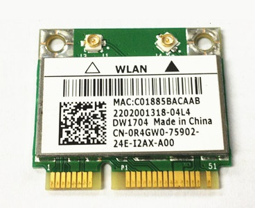 SSEA Wholesale for Dell Dw1704 for Broadcom BCM43142HM Bcm4314 Wifi Bluetooth BT 4.0 Wireless half Mini Pcie Card Free shipping