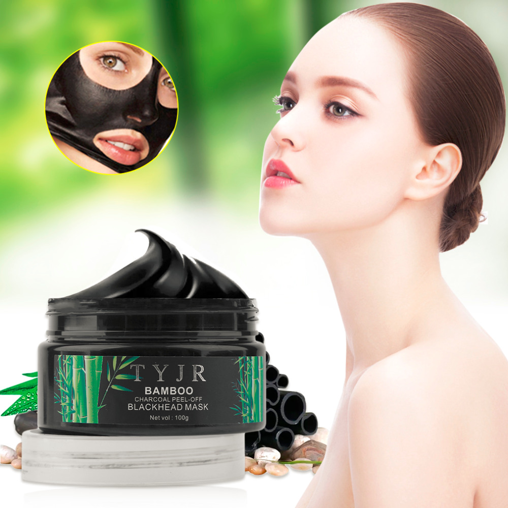 Tree Hut Skin Care Exfoliating Mud Mask With Detoxifying: 100G Facial Skin Care Cleansing Bamboo Charcoal Mask