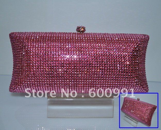crystal classical color bags 100%  swarovski bling bling handcraft+Free Shipping