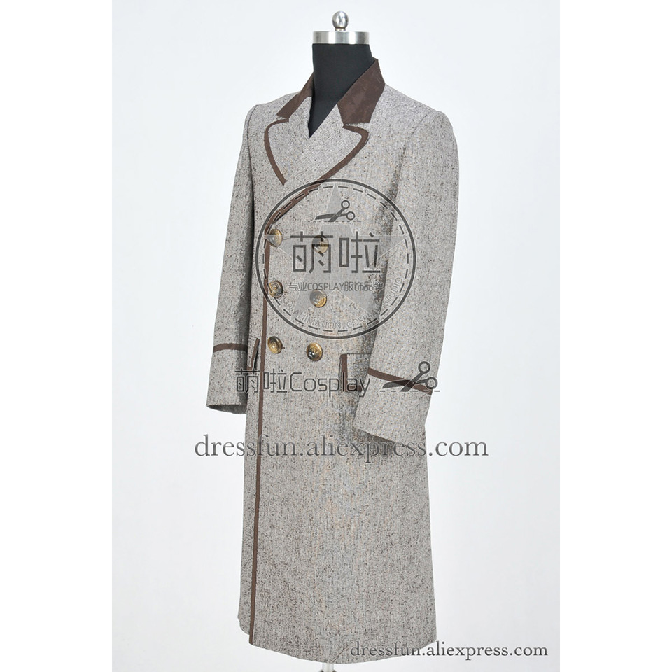 Details about  /Who Buy Doctor Costume Dr Pink Trench Coat Female Garment Party Wear Popular