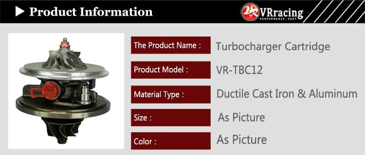 VR-Turbo картриджа Turbo КЗПЧ ДЛЯ bmw E46 GT1549V 700447-5009 S 700447 for318D 320D 520D E46 E39 m47D 2.0L 136HP VR-TBC12