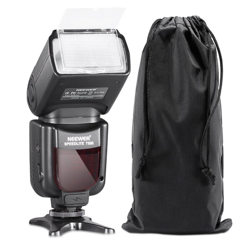 Flash Speedlite Neewer 750II TTL avec écran LCD pour Nikon D5000 D3000 D3100 D3200 P7100 D7000 D700 Series et autres reflex numériques Nikon