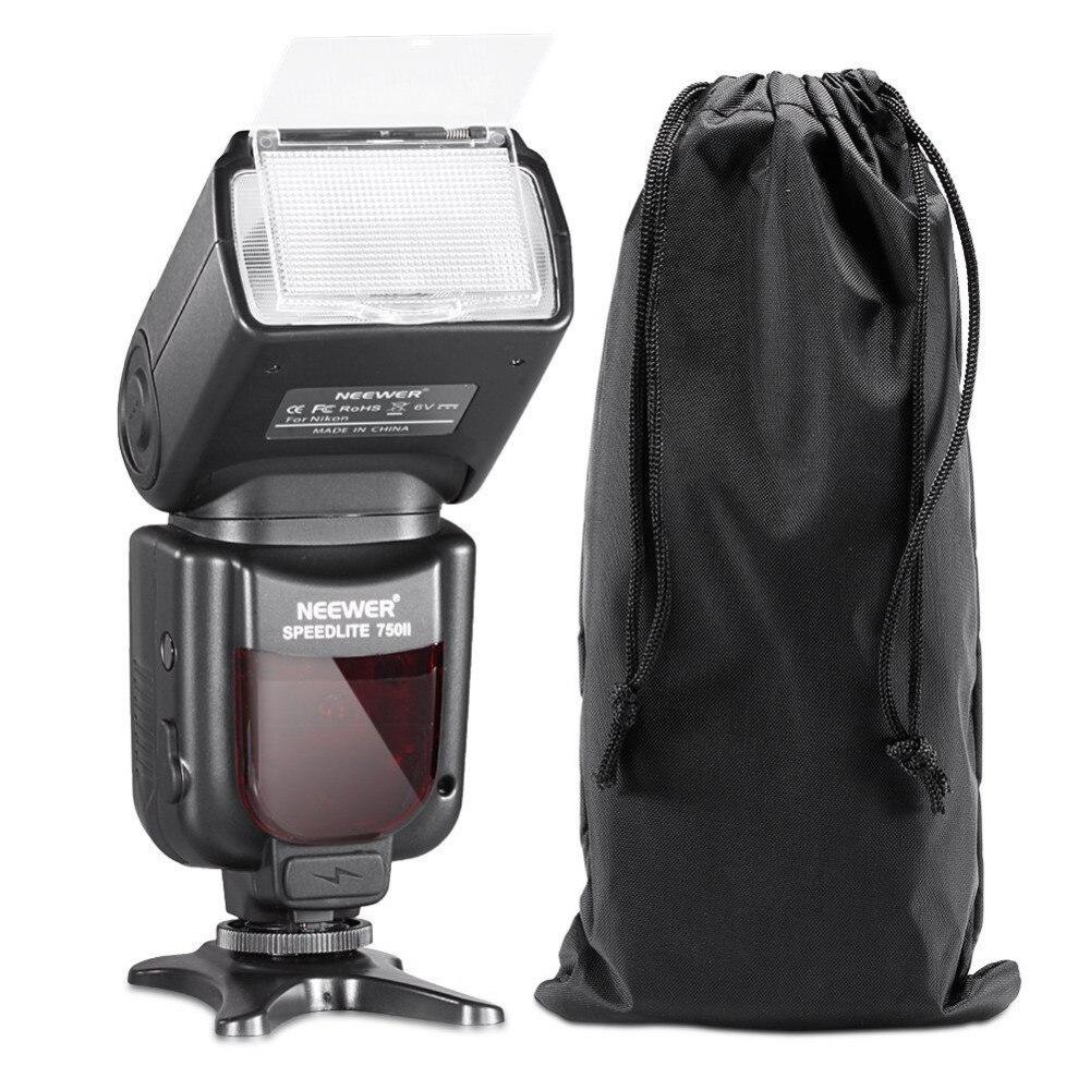 Us 4988 Neewer 750ii Lampa Błyskowa Ttl Speedlite Z Wyświetlaczem Lcd Dla Nikon D5000 D3000 D3100 D3200 P7100 D7000 D700 Serii I Inne Lustrzanek