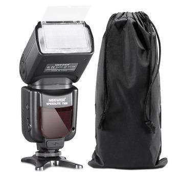 Neewer 750II ttl flash Speedlite z wyświetlaczem LCD do Nikon D5000 D3000 D3100 D3200 P7100 D7000 D700 serii i innych Nikon DSLR tanie i dobre opinie 10070994 0 581kg 5600k i-TTL 60*190*78mm 4XAA size batteries