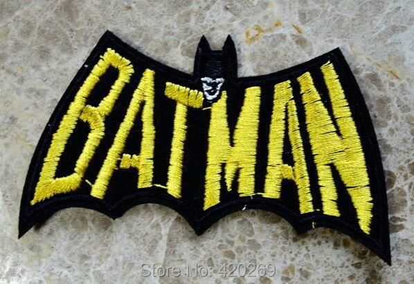 ГОРЯЧАЯ SALL!~ Прохладный Бэтмен герой гладить на Нашивки, пришить патч, Аппликации, из ткани, качество