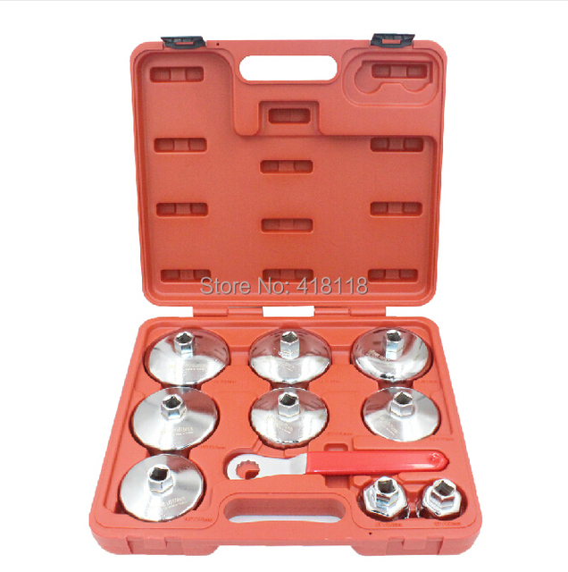 10pcs Car Maintenance Tools Set Oil Filter Cap Wrench Set For BMW/Benz/Porsche/Audi/Land Rover