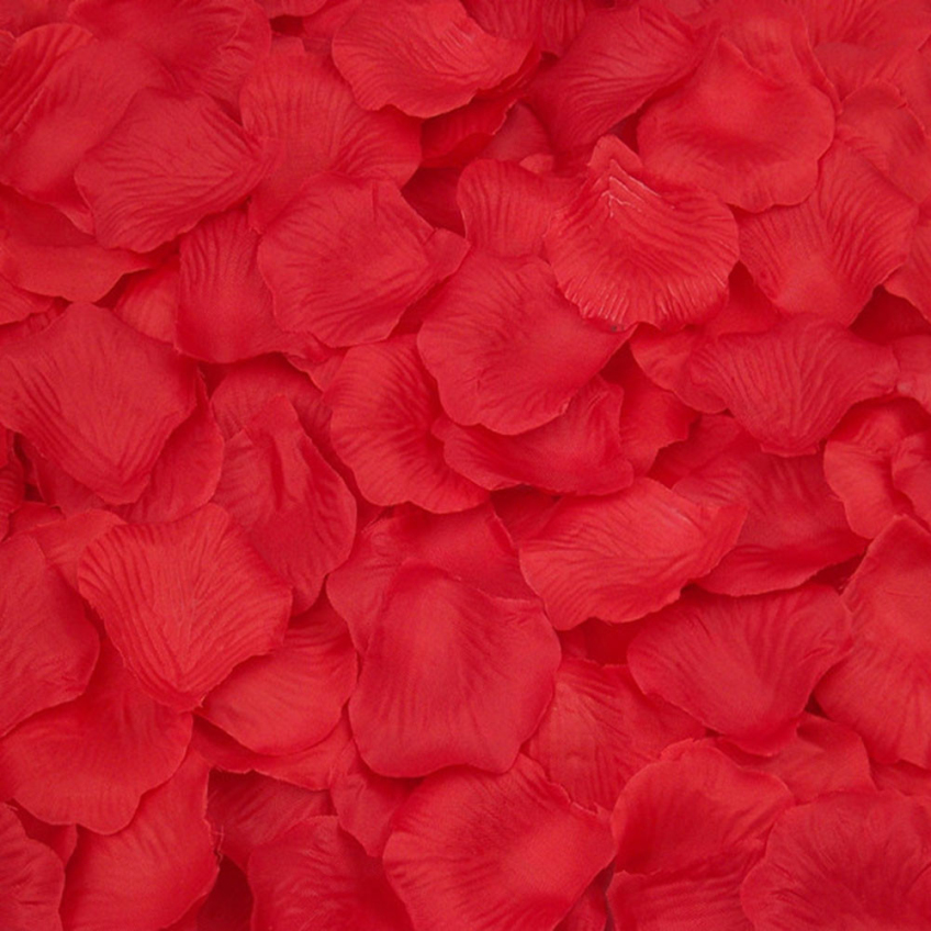 unids felices regalos de seda de rose de seda ptalos de flores decoracin de