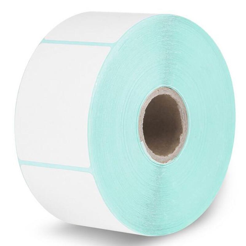 HPRT label thermal printing paper 40 50 750PCS Waterproof bar code printing paper Sticker label printing
