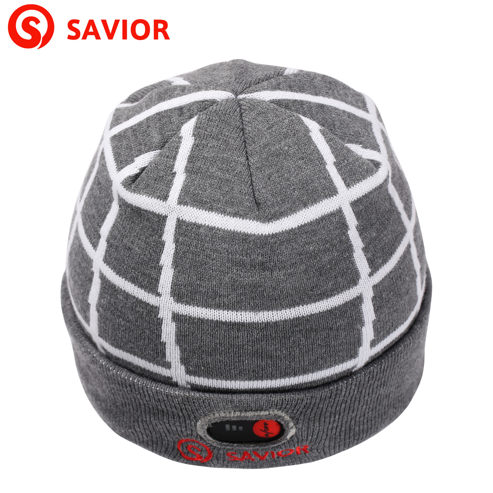 ФОТО SAVIOR  winter heated hat lithium battery electric heating hiking hat for low temperature men women cold weather keep warmming
