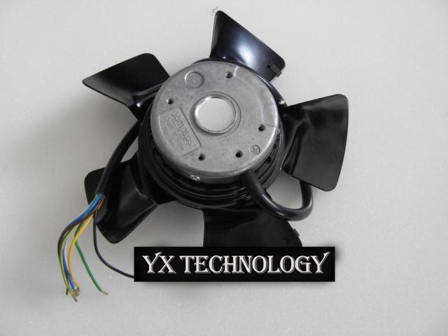 ebm papst  Brand new original inverter cooling fan A2D200-AA02-01 air suction-type control cabinet fan 200*73mm new original ebm papst w2s130 aa03 71 ac230v 45w 150 55mm cooling fan
