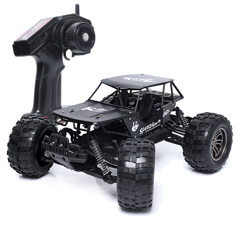цена на 1:12 RC Cars 2.4G Alloy High Speed RC Monster Remote Control Off Road Car RTR Toy Climbing Car 43km/h Off-Road Vehicle Toy
