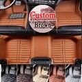 BUENA CALIDAD caso piso esteras del piso del coche para el F3 de BYD L3 G3 G5 G6 S6 S7 3D car-styling cuatro temporada alfombra del piso liner