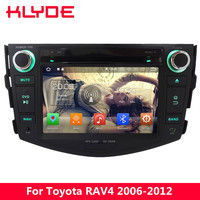 KLYDE 7 4G WIFI Octa Core 4GB RAM 32GB ROM Android 8.0 7.1 6.0 Car DVD Multimedia Player Radio Stereo For Toyota RAV4 2006 2012