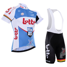 LOTTO 2016 Cycling jersey new ropa ciclismo bike sport cycling clothing mtb bicycle summer style maillot ciclismo man shirt(China)