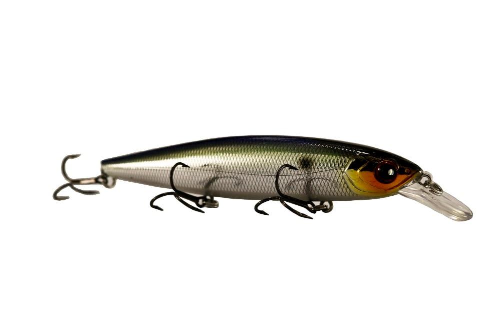 BassLegend- Fishing Suspending Minnow Jerkbait Swimbait Bass Pike Lure 128 SP 128mm/23g