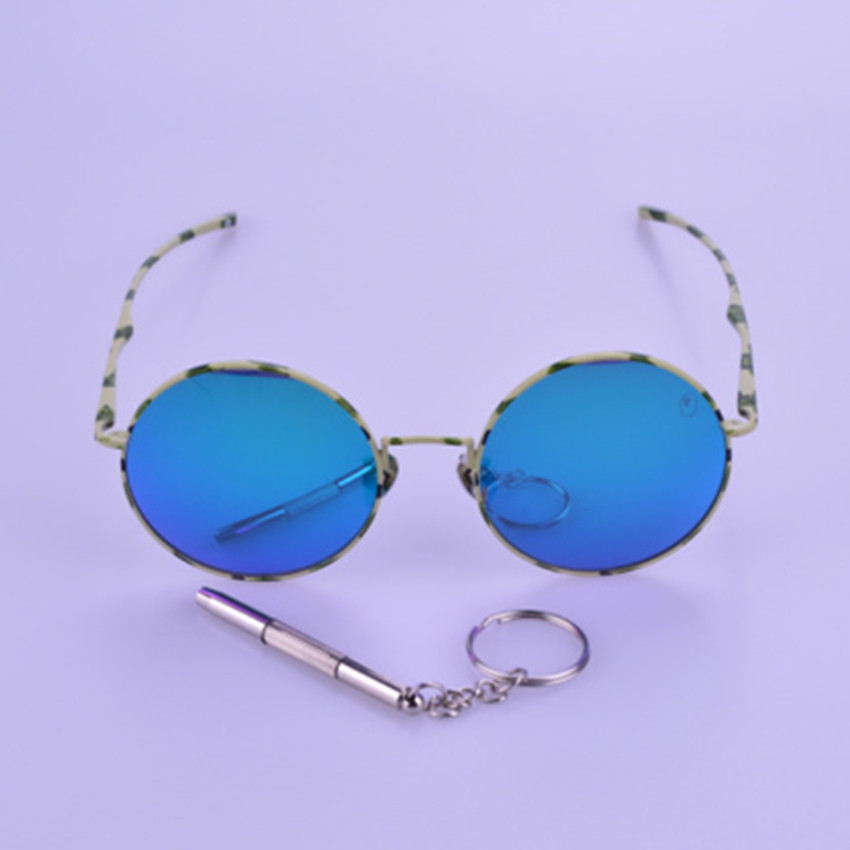 Free shipping Vintage fashion sunglasses women and men original case sun glasses