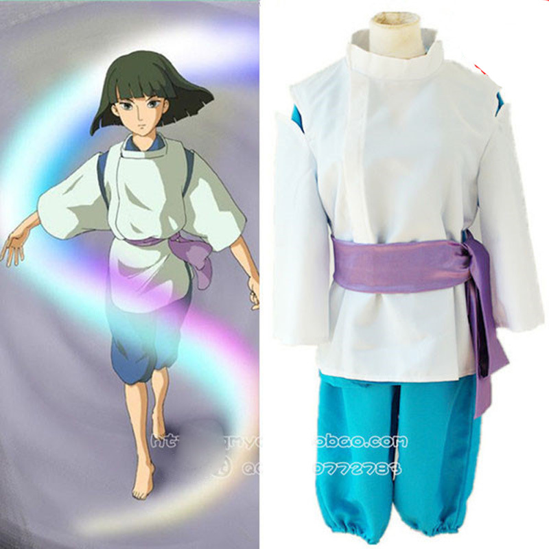 Spirited Away Cosplay Costume In Sen to Chihiro no kamikakushi Clothes Set Cosplay