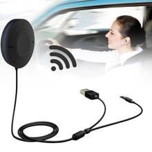 Профессиональный hands free call Автомобильный Универсальный AUX Беспроводной Bluetooth Audio приемник Bluetooth 4.1 + EDR черный Лидер продаж