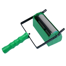 Diy Two-Color Y Paint Roller Brush With Handle Paint Roller Wall Paint Roller Home Improvement Tools