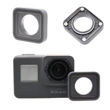 Go pro Hero5 6 Black Len Cap Ring For Gopro Replacement UV Lens Ring Repair Case Cover Frame For Gopro Hero 5 6 Hero5 Camera экшн камера gopro hero5 black edition