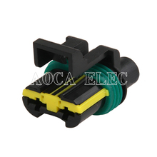 цена на Wire connector female cable connector male terminal Terminals 2-pin connector Plugs sockets seal 444230-1
