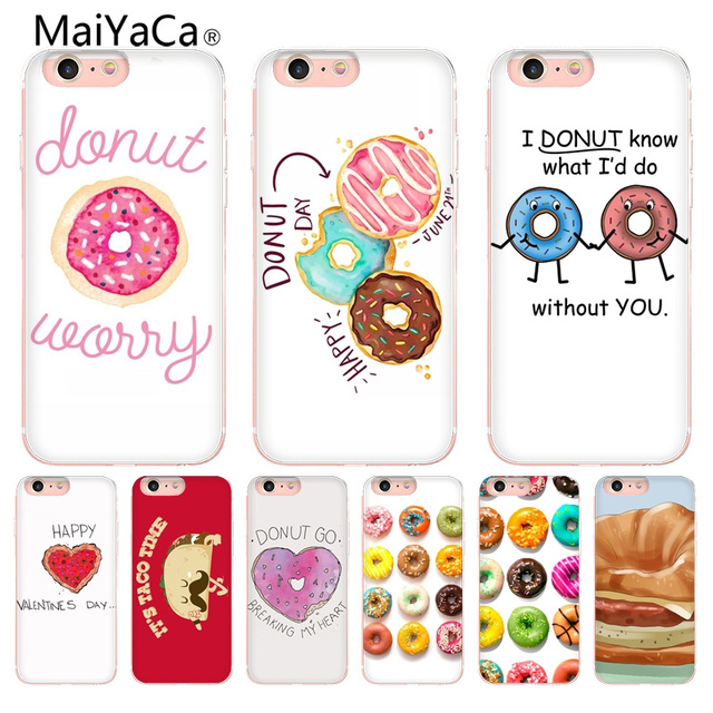 MaiYaCa Funny ideas Newest Super Cute Phone Cases for Apple iPhone 8 7 6 6S Plus X 5 5S SE 5C