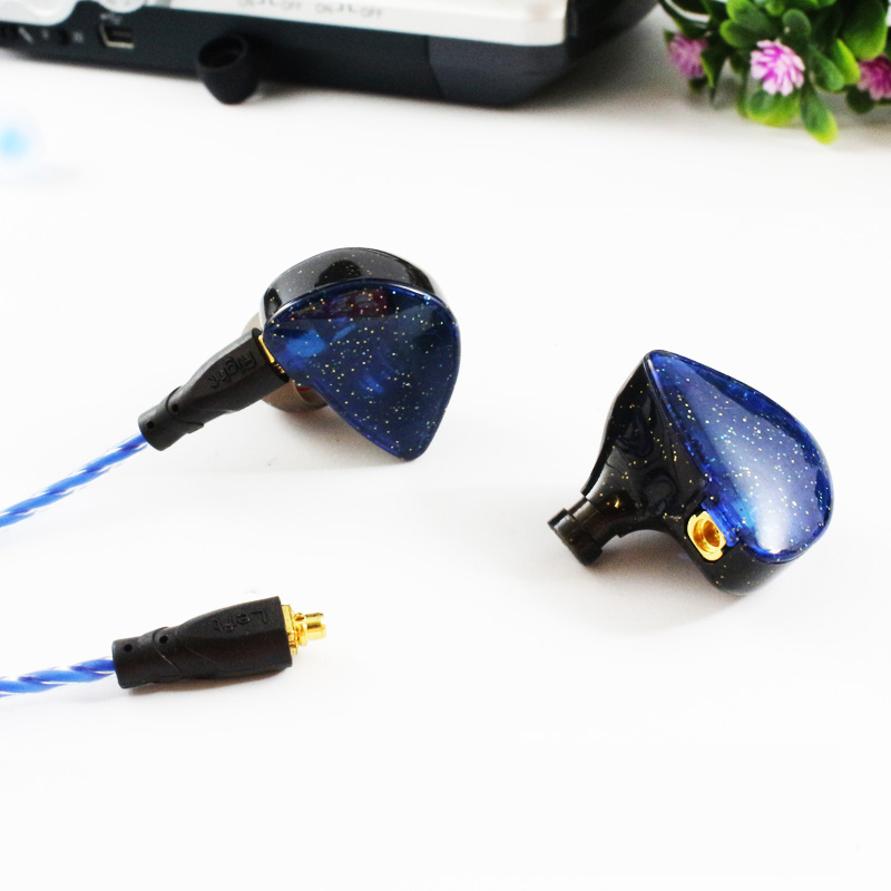 2018 SENFER UE Custom Made Around Ear Earphone HIFI Monitor Earphone Bass Headset with MMCX Interface Cable AS SE215 UE900 SE846
