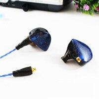 2018 SENFER UE Custom Made Rond Oor Oortelefoon HIFI Monitor oortelefoon Bass Headset met MMCX Interface Kabel ALS SE215 UE900 SE846