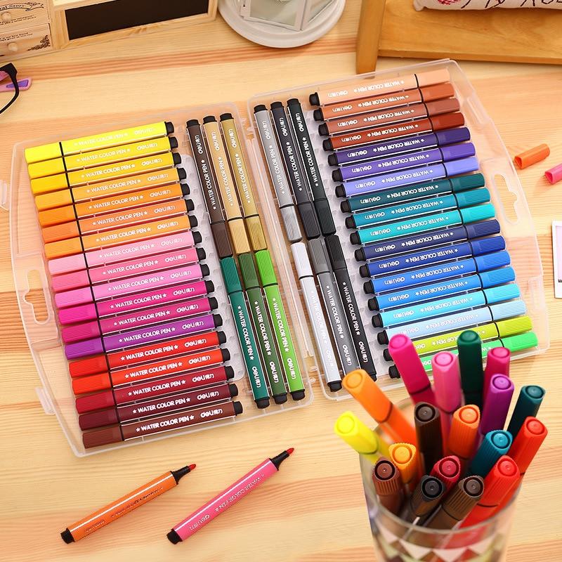 1218243648 Colors Waterpen Set Art Marker Drawing Pen Non-toxic Water Wash For Graffiti School Supplies Liquid-ink