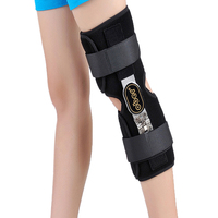 Medical Knee Brace Fixator Aluminum Stabilizer Support For Knee Joint Loose Ligamentous Injury 1 Piece