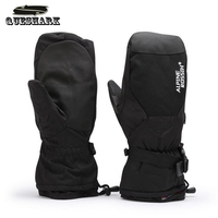 Men S Ski Gloves Snowboard Gloves Motorcycle Riding Cycling Winter Gloves Windproof Waterproof Unisex Warm Snow
