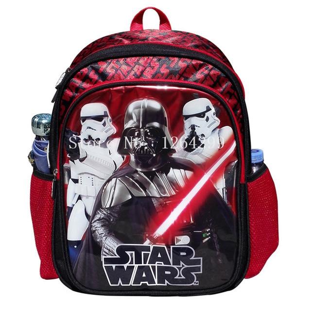 New Fashion Star Wars Darth Vader Stormtrooper Boys School Bags Kids Backpack Bag For Children