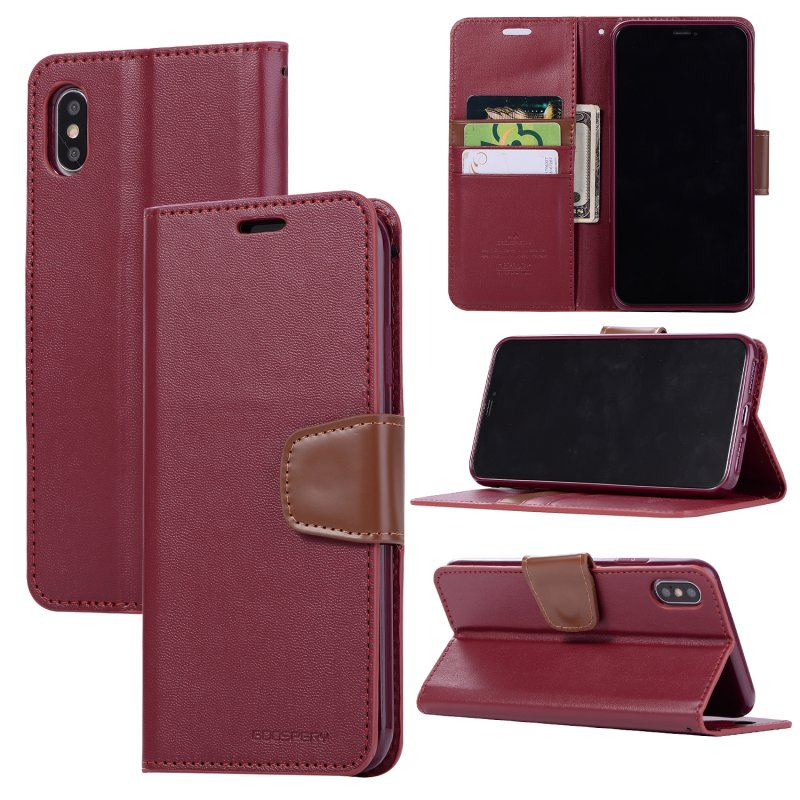 Phone Cases for iPhone XS Max Case Wallet Shockproof Leather Flip Cover for iPhone X XS XR 6 6s 7 8 Plus Case Card Holder Coque (5)