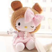 holiday sale birthday gift super cute lovely sweet cookies hello Kitty plush doll pillow stuffed toy 1 pc a lot