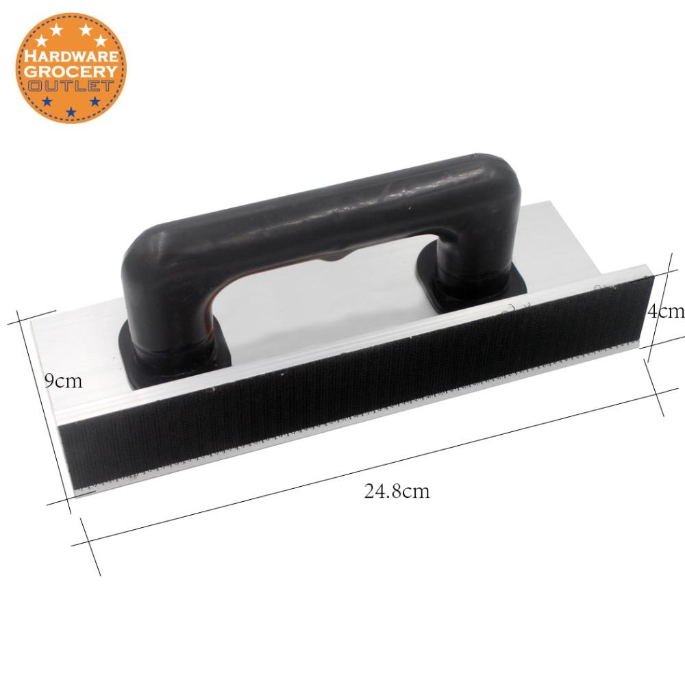 Self Adhesive Drywall Inside Corner Sander Sanding Tool Aluminium Alloy Sand Pap