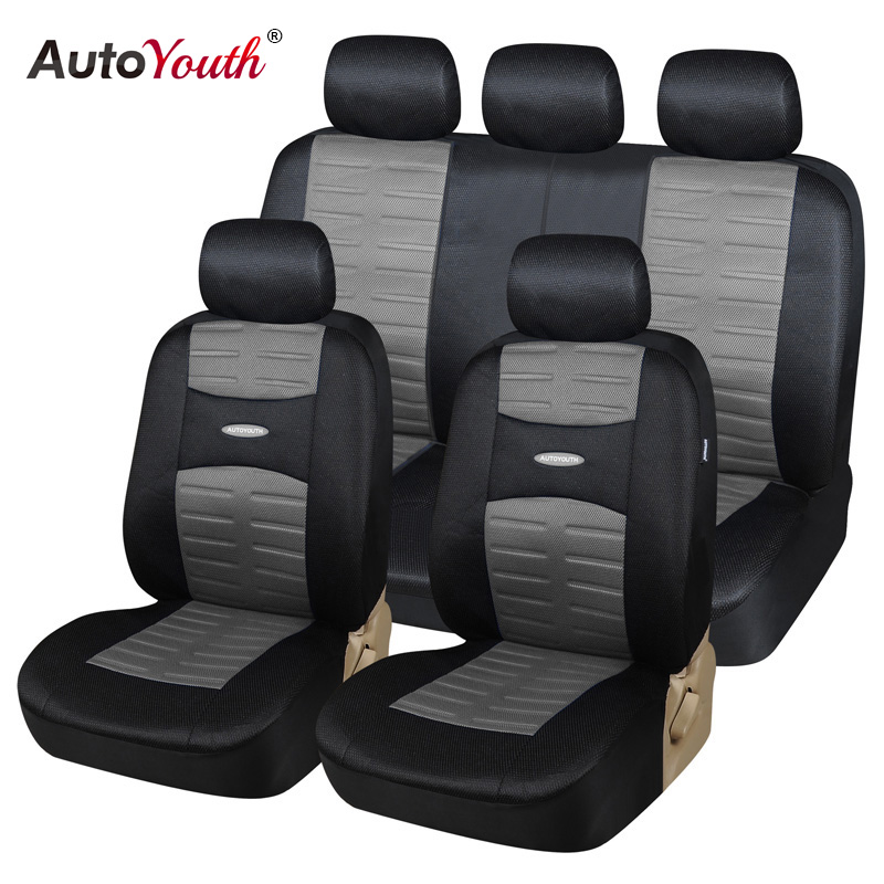 buy autoyouth new technolog 3d air mesh fabric car seat covers universal fit. Black Bedroom Furniture Sets. Home Design Ideas