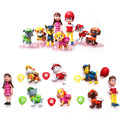 8pcs/lot juguetes Kids Toys Action Figure Animal patrulla canina toys Puppy Patrol Dogs Baby Gift Doll Birthday Movable Joints