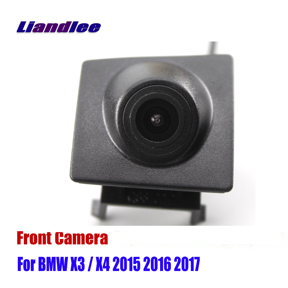 Liandlee AUTO CAM Car Front View Camera Grill Embedded For BMW X3 / X4 2015 2016 2017 ( Not Reverse Rear Parking Camera )