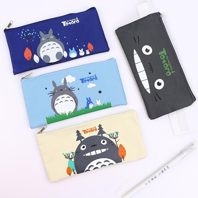 Korean Cartoon Dragon Pen Case Oxford Cloth Bill Bag Lovely Rectangular Pencil Bag
