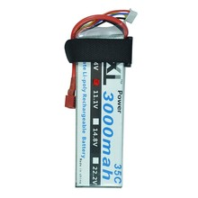 XXL 3000mAh 11.1V 3S 35C RC LiPo Battery for RC Helicopters quad copter CX20 Airplanes