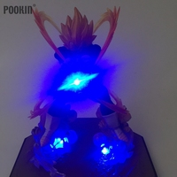 Nieuwe Dragon Ball Vegeta Sterkte Bommen Luminaria Led Blauw Kleur Nachtlampje Holiday Gift Kamer Decoratieve Led Verlichting