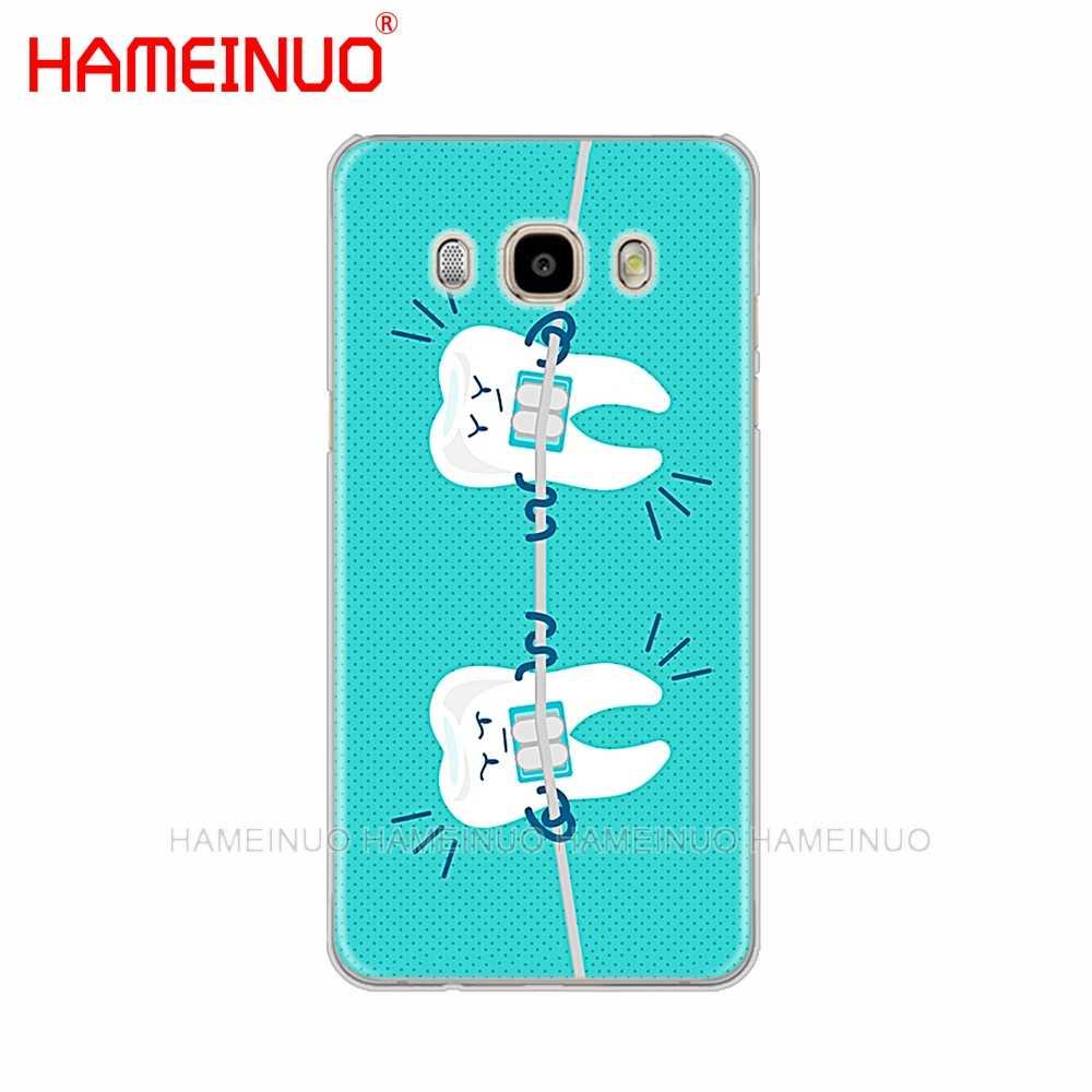 HAMEINUO dentysta Dental koronowany zębów pokrywa przypadku telefonu do Samsung Galaxy J1 J2 J3 J5 J7 MINI ACE 2016 2015 prime