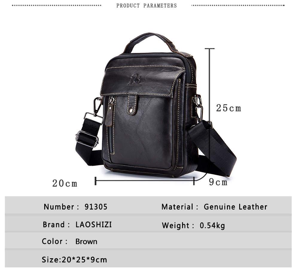 54f722857c4b Detail Feedback Questions about Men s Bags Crossbody Shoulder ...