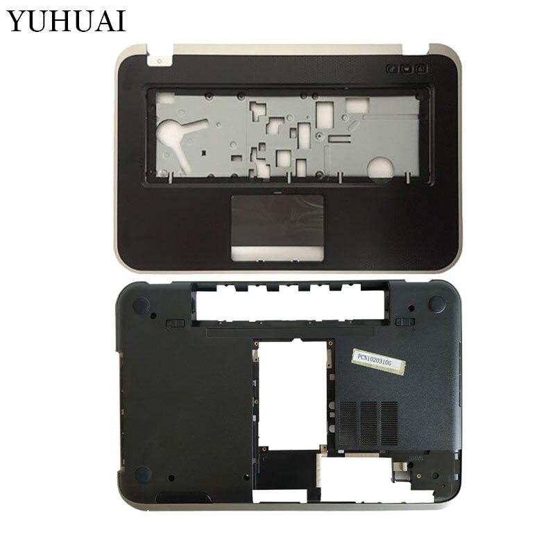 NEW Palmrest Upper/bottom Base Cover For DELL Inspiron 15R 5520 7520 5525 M521R P/N K1R3M 0K1R3M Laptop Case