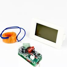 Top Quality New AC Digital Ammeter Voltmeter LCD Panel Amp Volt Meter 100A 300V IP23 Free Shipping